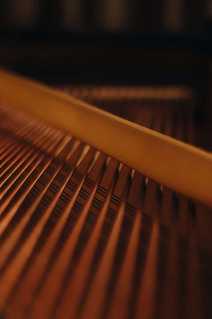 arpa piano musica