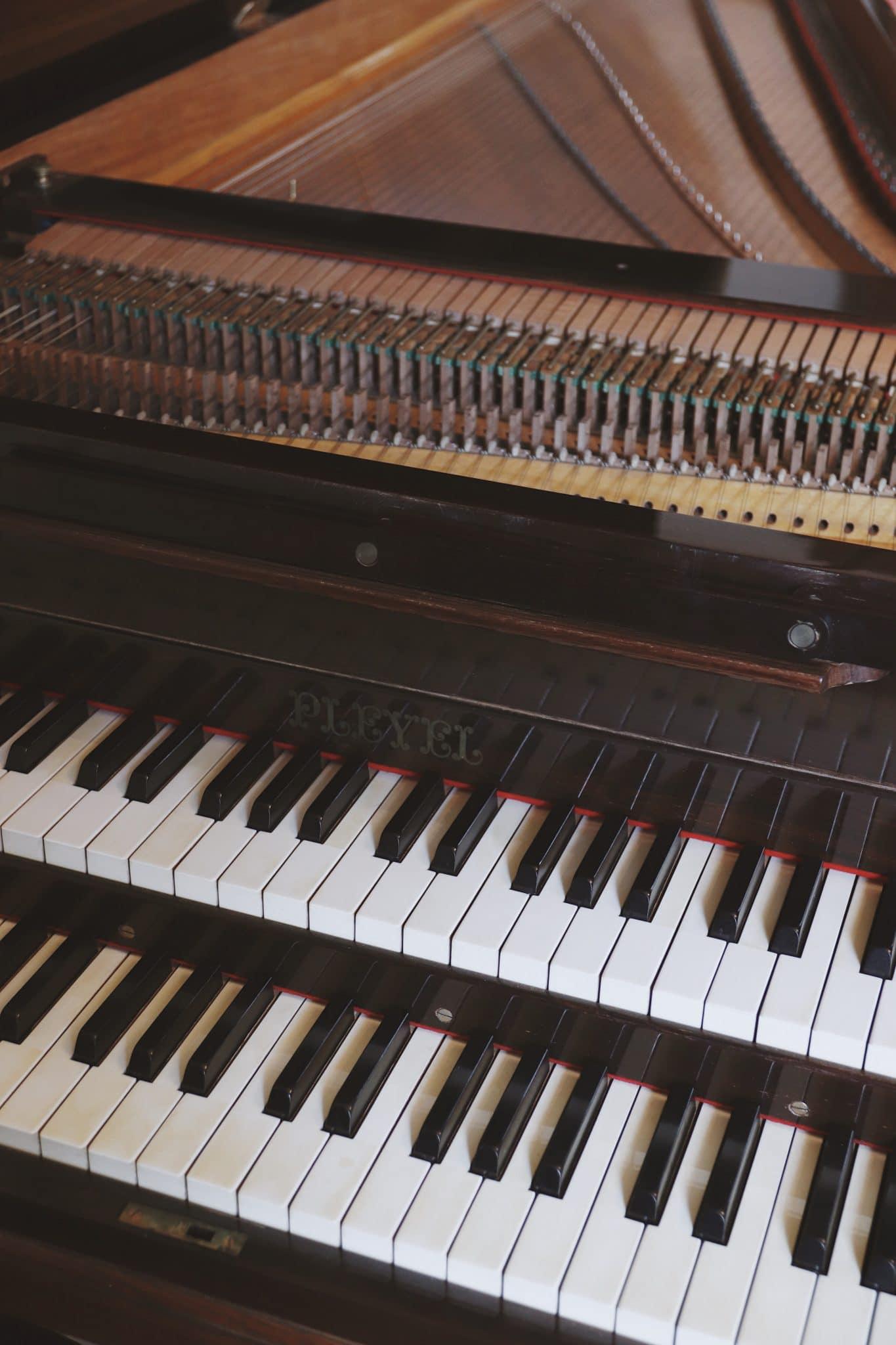 clave piano