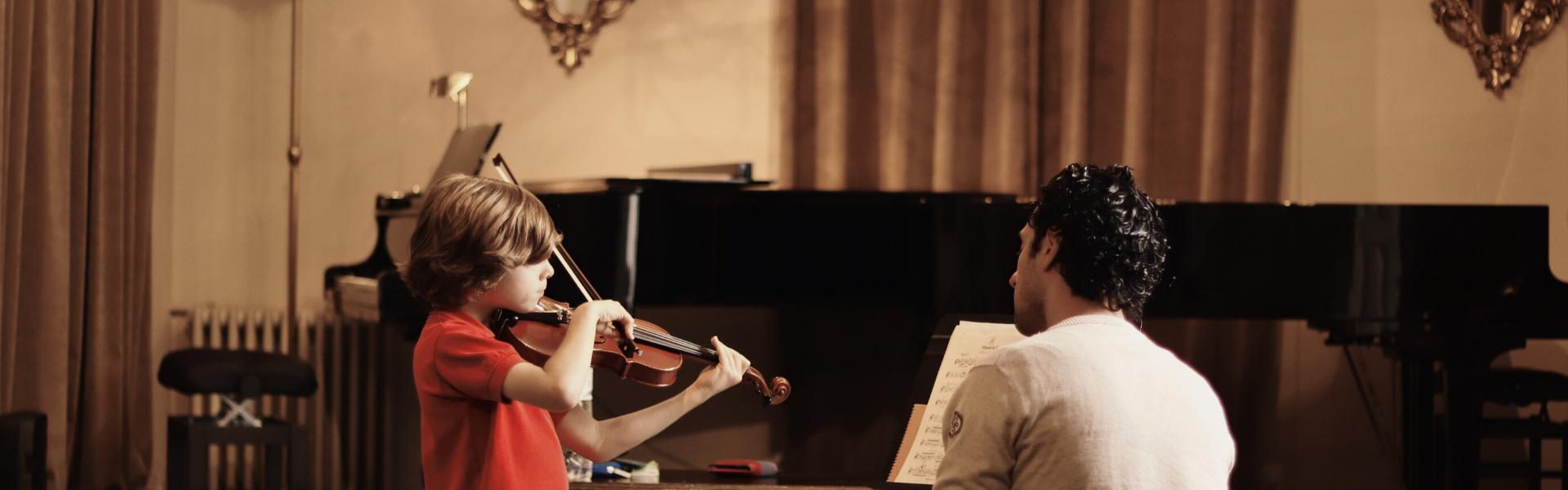 profesor violin